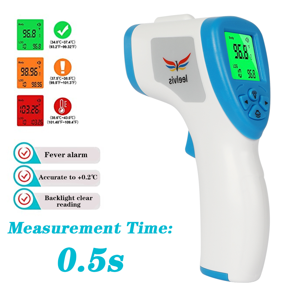 Forehead Termometer Infrared Body Thermometer Gun Baby/Adult Digital Non Contact Temperature Measurement Device