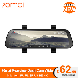70mai 9.35 inches 1080P 130° Wide Angle Car DVR stream media Dash camera Dual Lens Video Recorder Rearview mirror Car Camera