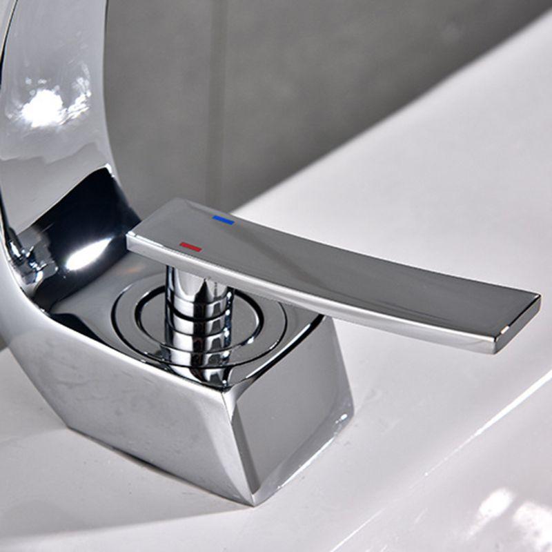 Nouveau robinet de bassin de bain en laiton Chrome robinet brosse Nickel évier mélangeur robinet vanité eau chaude froide salle de bain robinets - 5
