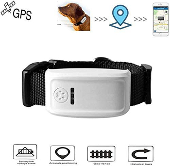 Jayzod Dog GPS Tracker Pet Finder Dog Collar Locator Smart Pet GPS Tracker Remote Tracker GSM/GPRS/GPS Long Standby Tracking