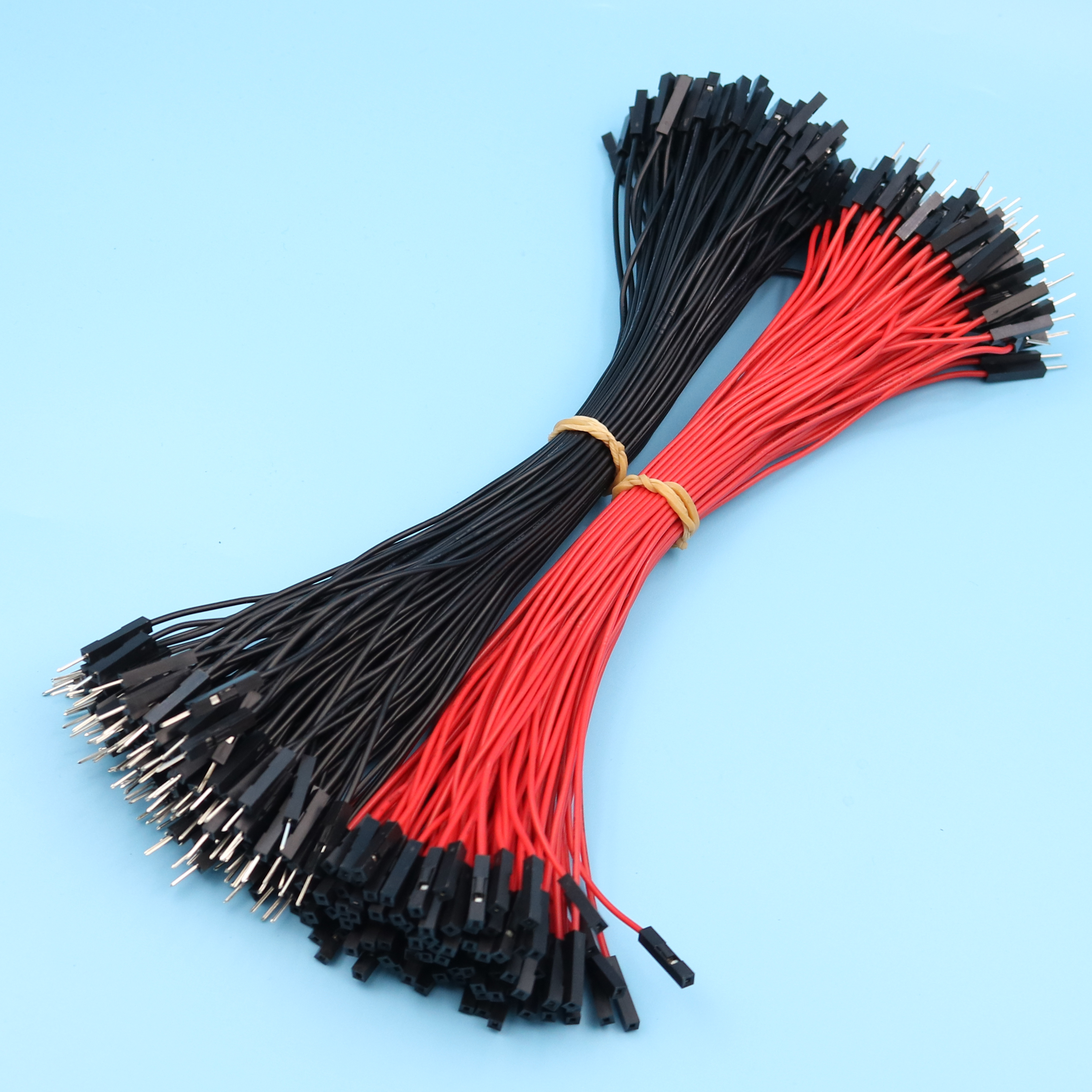 50pcs 20cm Single 1P-1P Male to Female Jumper Wire Dupont Cable Ribbon