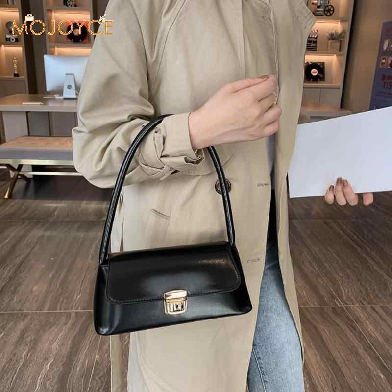 なパターンの女性のメッセンジャーハンドバッグカジュアル固体ショルダーバッグ革カジュアルショッピングショルダーバッグ無地トート