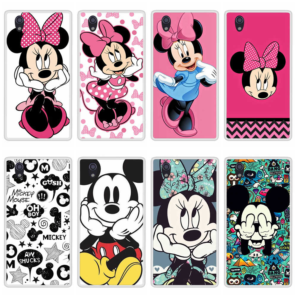 Phone Case for Lenovo P70 Soft Silicone TPU Mickey Minnie Patterned Painted for Lenovo P 70 Cases