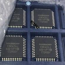 10 шт. ~ 50 шт./лот 100% Новый оригинальный ENC424J600 I/герметизирующая ptfe лента для ENC424J600 I ENC424J600 ENC424J 600 I/герметизирующая ptfe лента для QFP 44