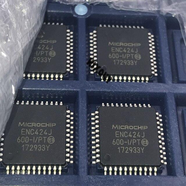 10Pcs ~ 50 Stks/partij 100% Nieuwe Originele ENC424J600 I/Pt ENC424J600 I ENC424J600 ENC424J 600 I/Pt QFP 44