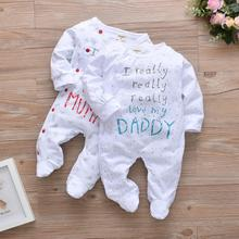 Infant Outfits Jumpsuit Romper Pajama Long-Sleeve Really Newborn Baby-Boy-Girl Cotton