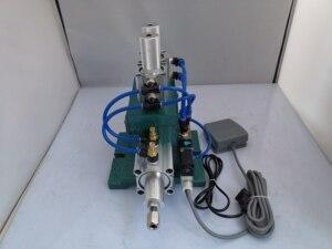 Image 5 - Máquina de descascamento vertical 3f, máquina de descascamento pneumática, máquina de descascamento do fio da multi costa revestida