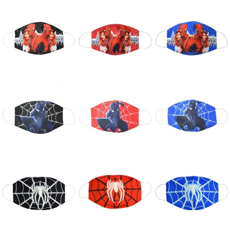 2020 Marvel Series Spider-Man Kids Face Mask Boys Girls Children Dustproof Breathable Anti-fog Haze Masks Dustproof Y05ZXT229