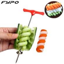Vegetables Spiral Knife Potato Cucumber Spiral Cutter Chopper Easy Spiral Screw Slicer Cutter Spiralizer Kitchen Tools