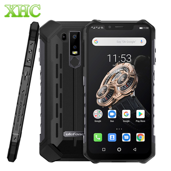 "Ulefone Armor 6S 6.2"" Android 9.0 6GB 128GB Smartphone Helio P70 Wireless Charge Octa core FCC NFC OTG Dual SIM 4G Mobile Phone"