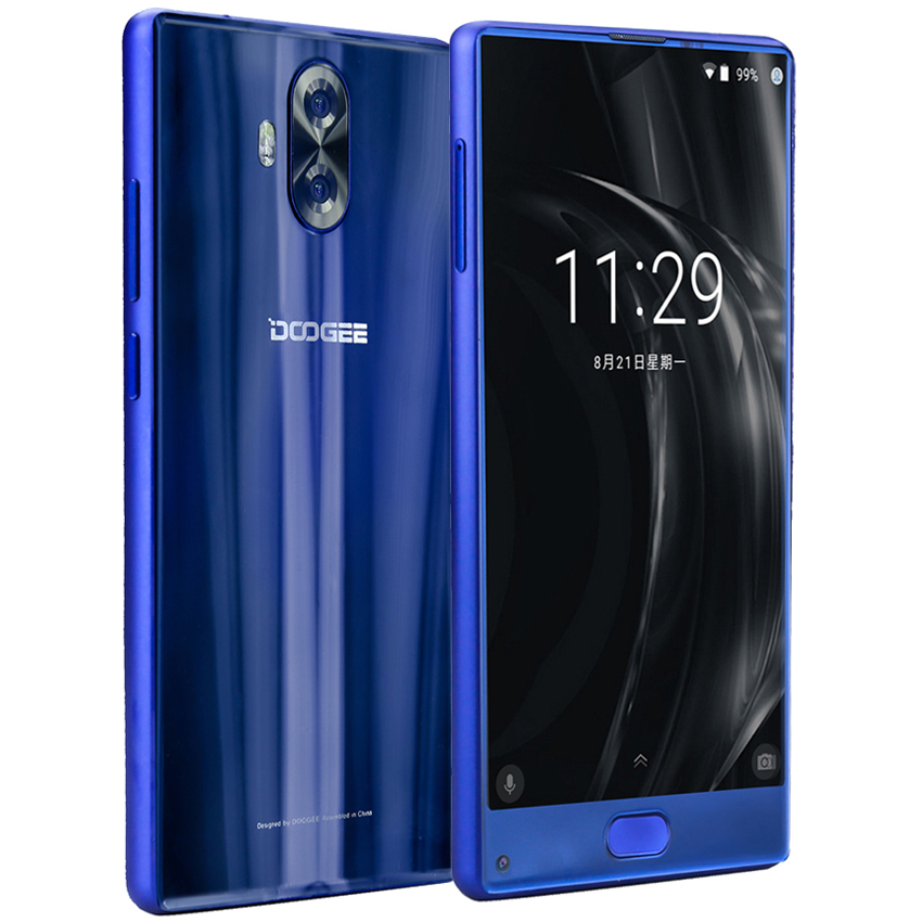 DOOGEE MIX Lite 4G Smartphone Dual Camera 5.2'' MTK6737 Quad Core 2GB+16GB Android 7.0 3080mAh Fingerprint Unlock Mobile Phone