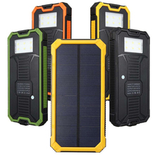 Three proofing ultra thin solar mobile power 20000mah camping lamp charger with its own SOS function сумка its own brand mxq1215 2015