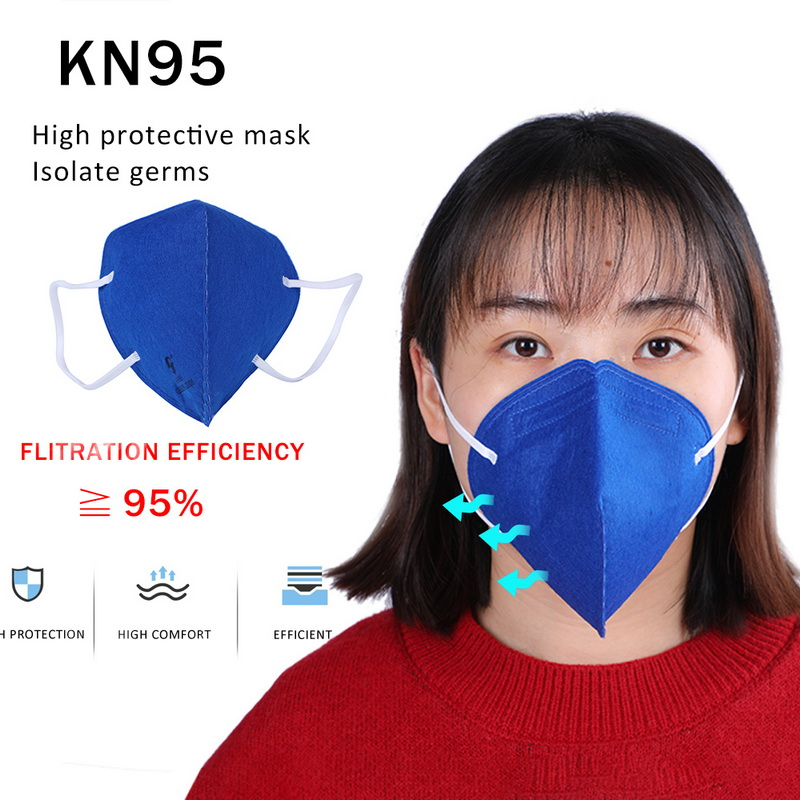 1/5/10 Pcs Electrostatic Filter Cotton Mouth Mask PM2.5 Dustproof KN95 Grade Particles Anti-industrial Dust Comfort Mask