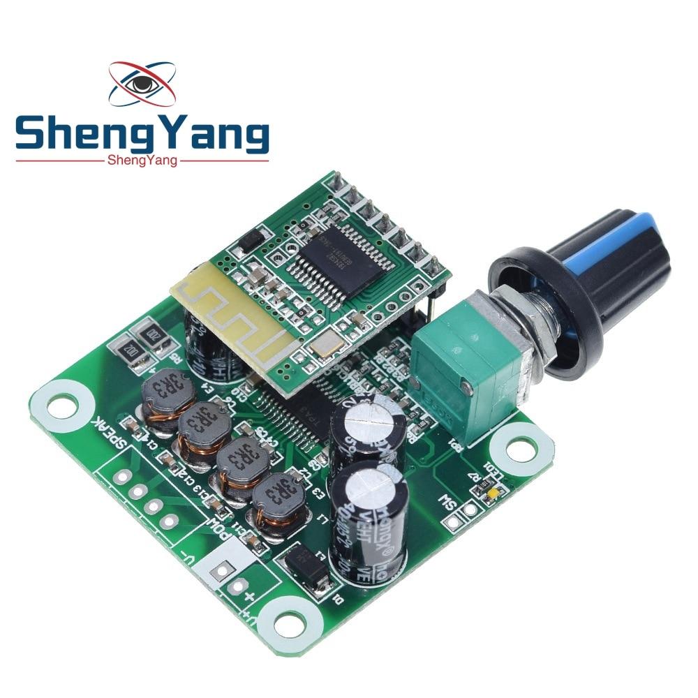 Amplifier Board,TPA3110 2x15W Bluetooth Audio Power Amplifier Board AMP for Speaker Portable Stereo Power Amplifier DIY Module