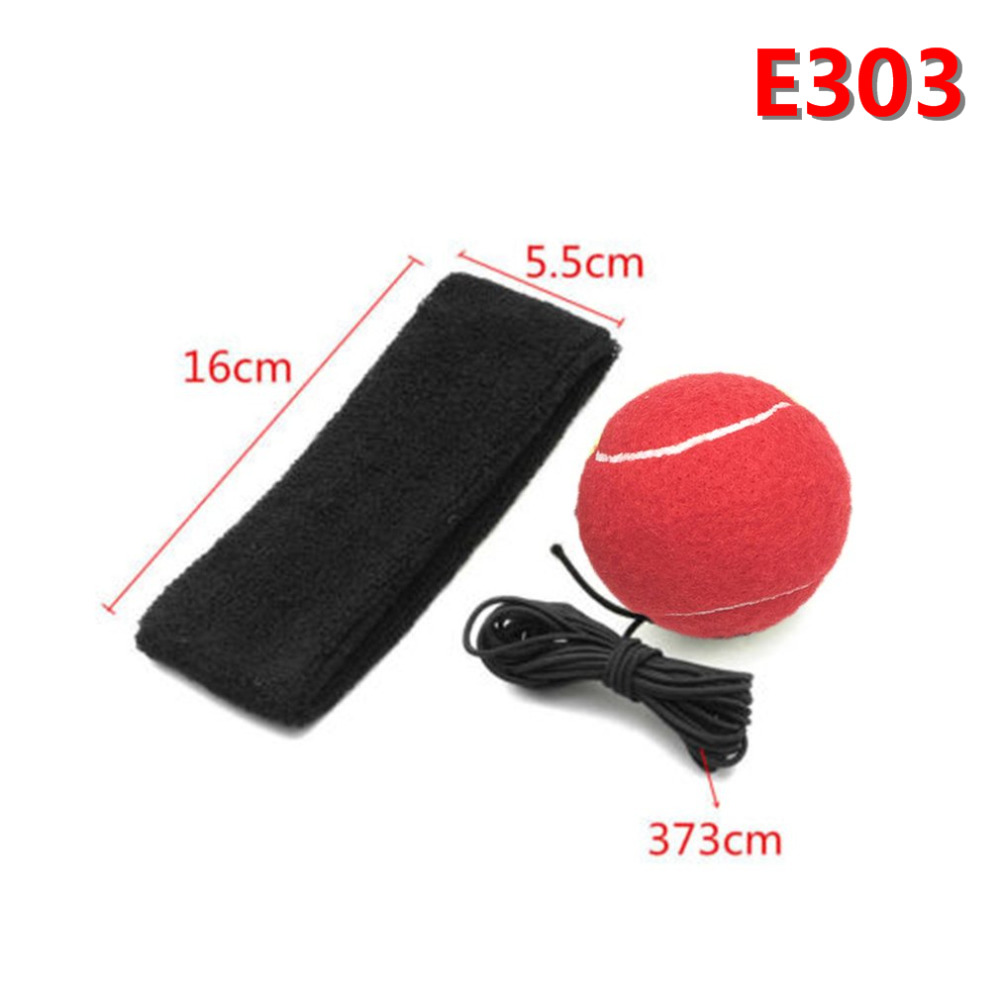E302 E303 Elasticity Head Band Wearing Boxing Equipment Fight Ball Training Speed Ball Muay Thai Trainer Quick Punching