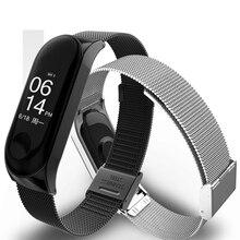 Smart Wrist Band Bracelet Strap for Xiaomi Mi 3 4 MiBand Metal Stainless Steel Z2