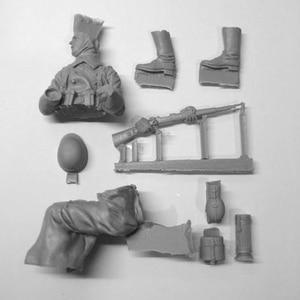 Image 3 - مجموعة جنود لشخصيات الراتنج لعام 1/16 مجموعة تاريخية غير مطلية ومفككة 595G