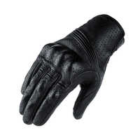 Motorrad Schutz Gears Motocross Handschuhe Retro Winter Warme Perforierte Echt Leder Motorrad Handschuhe Moto Winddicht Handschuhe
