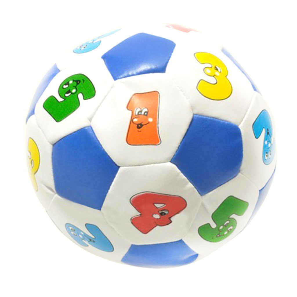 Baby Toddler Alphabet Number Developmental Puzzle Ball Football Ratlle Toys