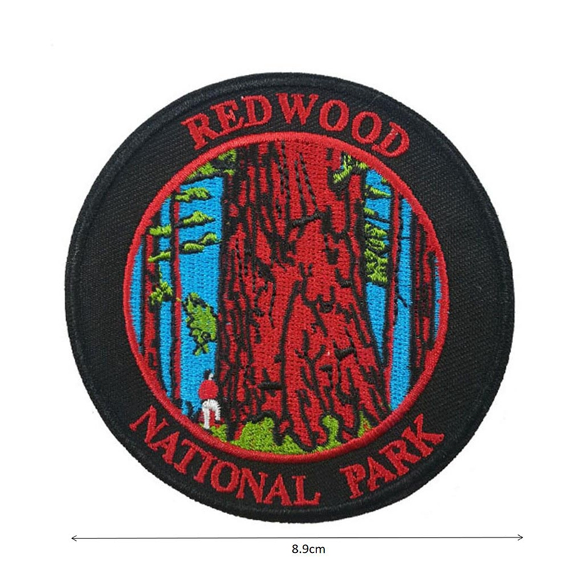 Custom Embroidered Patch personlized logo badge DIY can be customized with your design Factory OEM