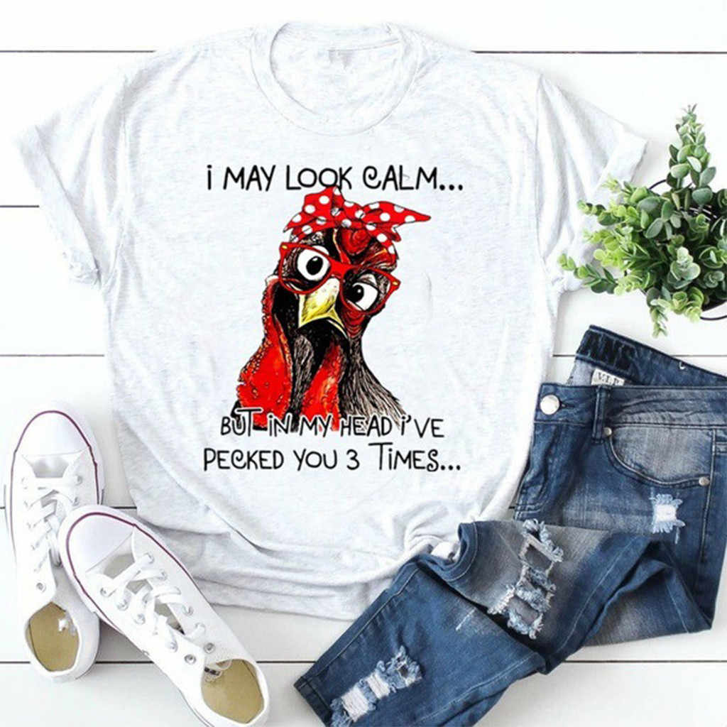 Men Short Sleeve T Shirts Graphic Cock Print Fashion Casual Black T Shirts Tees Tops