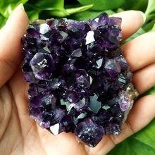 Pierre de quartz de haute qualité, cristal d'améthyste géode, cristal d'améthyste, décoration de maison, pierre naturelle