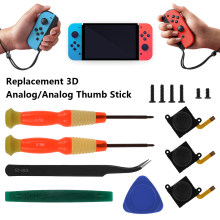 3D Analog Joy con Joystick Replacement Gamepad Thumb Stick for Nintendo Switch NS Joystic JoyCon Repair Tool