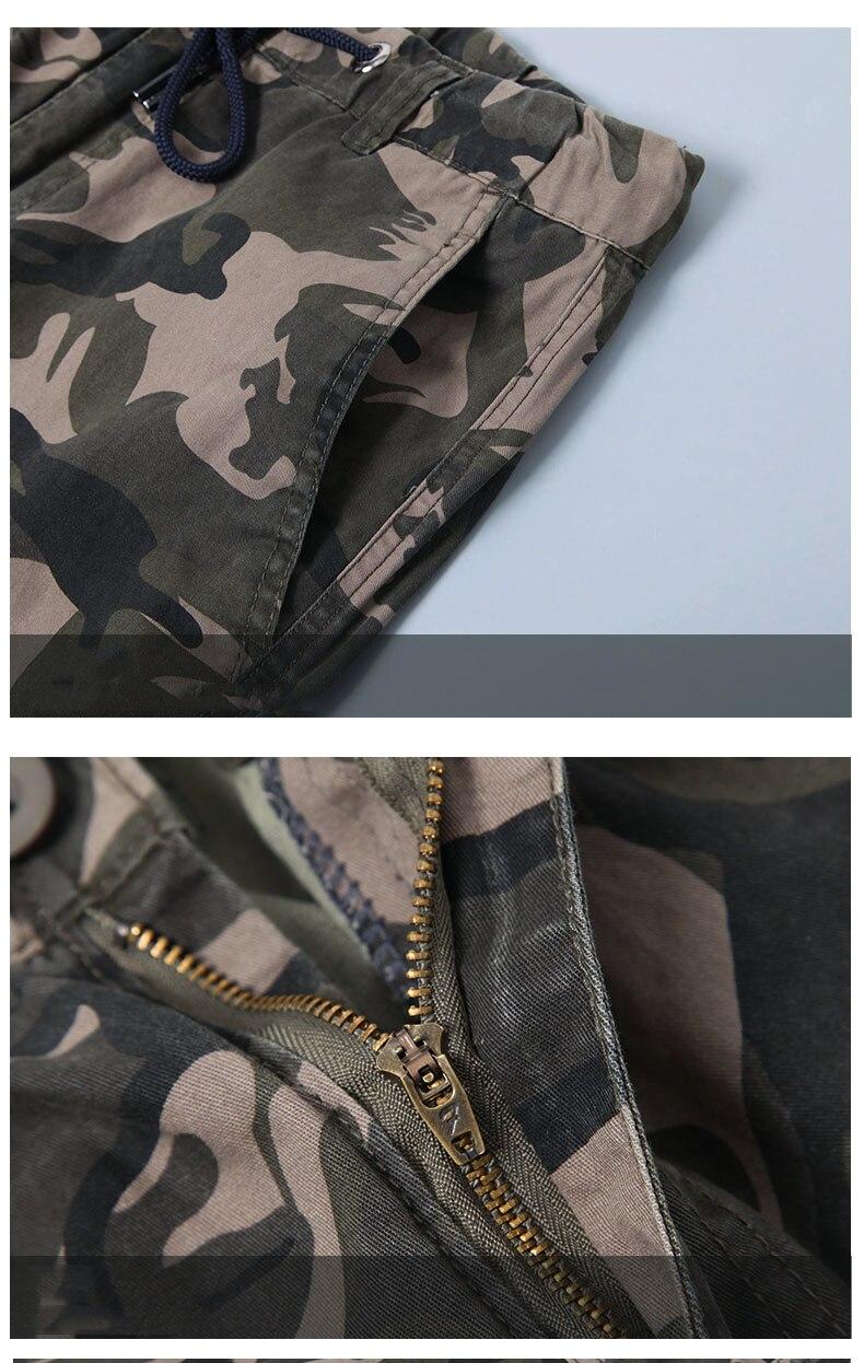 KSTUN Cargo Pants Men Camouflage Harem Joggers Men's Causal Hip Hop Trousers Drawstring Sweatpants Male Large Size Pants Good Quality 25