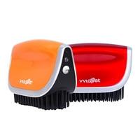 Smart thermostatic pet grooming hair straightener brush