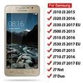 Закаленное стекло HD 2 шт. для Samsung Galaxy J3 J5 J7 2017, Защитное стекло для экрана ЕС для Samsung J7 Duo J7 Nxt J320 J510 J710 2016