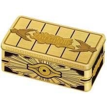 Золотистый шкаф yu gi oh tcg американская британская и европейская