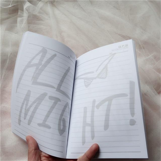 Mi héroe academia Midoriya Izuku cuaderno diario libro todo · podría firma Cosplay Prop