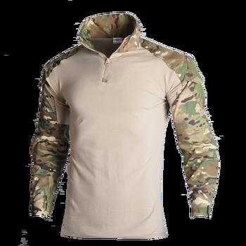 Mężczyźni armia ShirtsTactical T shirt SWAT żołnierze wojskowy T-Shirt wojskowy koszule moro z długim rękawem Paintball z ochraniaczem na łokieć 8XL tanie i dobre opinie HAN WILD CN (pochodzenie) Unisex Dobrze pasuje do rozmiaru wybierz swój normalny rozmiar COTTON Military Army T-Shirt