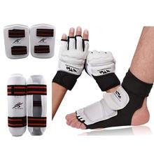 Перчатки для карате Экипировка таэквондо спарринга набор защиты