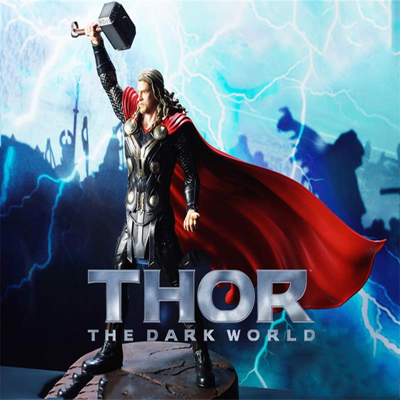 In Stock 1/9 Scale Collectible #<font><b>38120</b></font> Statue Thor The Dark World Figure Hero Action Model Figure Model For Fans Collection Gifts image
