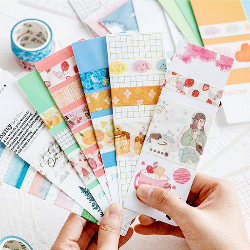 LoveFrom 15pcs/lot Kawaii Bookmark Pragmatic Series Of Creative Fresh Milk Tea Girl PDA Basic Bookmarks DIY Scrapbooking