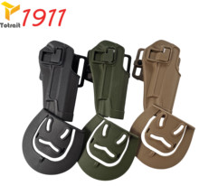 New Tactical Army CQC  1911 Holster Outdoor Hunting Shooting Black Tan Green Military Airsoft Belt Gun Pistol