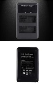 Image 5 - شاحن بطارية PALO LP E8 LPE8 LP E8 LCD لكاميرا كانون EOS 550D 600D 650D 700D المتمردين T2i T3i T4i T5i Kiss X4 X5