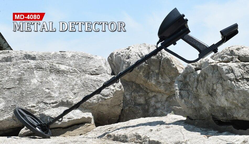 MD 4080 detector de metais handheld localizador