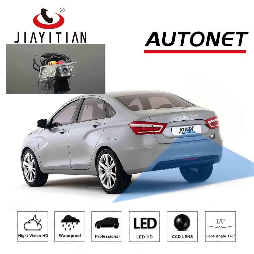 Камера заднего вида JiaYiTian для Lada VESTA sedan vesta SW CCD камера ночного видения для парковки запасная камера