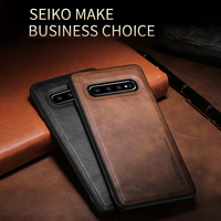 Custodia sottile in pelle sottile per Samsung Galaxy S10e S9 S10 S20 Plus nota 9 10 20 S21 Plus Ultra A10 A20 A30 A40 Cover antiurto Capa