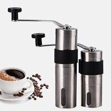 Ручная керамическая кофемолка из нержавеющей стали мельница