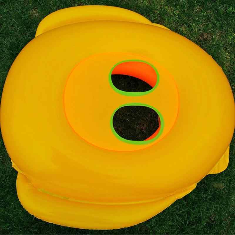 ทารกแหวนว่ายน้ำเด็กสระว่ายน้ำที่นั่งเด็กวัยหัดเดินน้ำลอยน้ำแหวนเทรนเนอร์