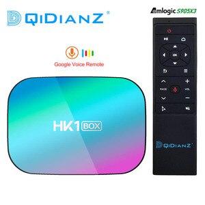 Image 1 - HK1BOX 4 기가 바이트 128 기가 바이트 8K Amlogic S905X3 스마트 TV 박스 안드로이드 9.0 듀얼 와이파이 1080P 4K 유튜브 셋톱 박스 HK1 박스 PK X96AIR X3 A95XF3