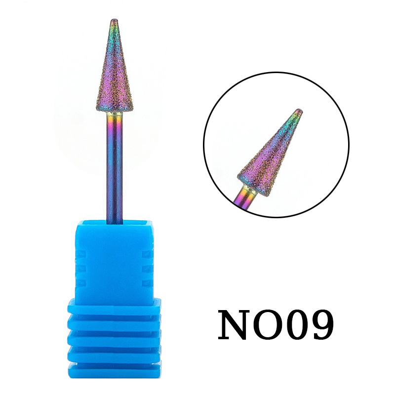 1pc Diamond Drill Bit Milling Manicure Cutter for Pedicure Electric Machine Device Tool Professional Nail Art Burr Drill in Nail Art Equipment from Beauty Health