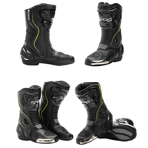 Image 4 - SPRS Motocross Boots Men Waterproof Motorcycle Boots Professional racing Moto Boots Motorbike Riding Boots Botas Moto