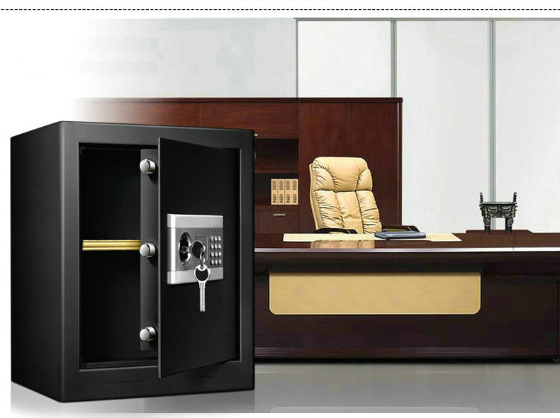 Electronic Password Key Double Unlock File Cabinet Concealed Safe All Steel Home Office Safe Small Jewelry Cash Storage Box