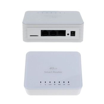 цена на Unlock 300M CPE 4G Wifi Router Gateway FDD TDD LTE Global SIM Card Slot WAN LAN