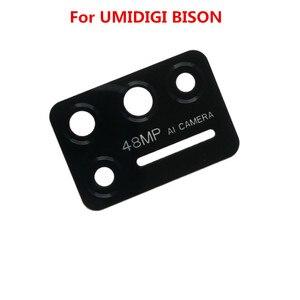 Image 2 - New UMIDIGI BISON Back Camera Lens 100% Original Rear Camera Lens Glass Replacement Accessories For UMIDIGI BISON Phone