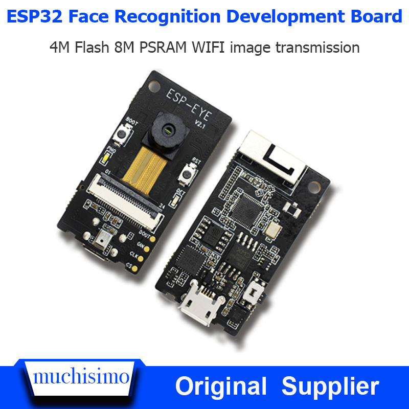 ESP32-EYE Face Detection Face Recognition Development Board WIFI Image Transmission Audio Processing AI
